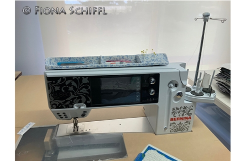 Sewing caddy for Bernina 880+ Fiona Schiffl