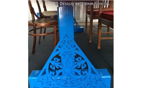 Wrought iron table design Fiona Schiffl