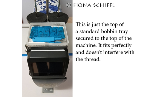 Notions tray on top of Q20 Fiona Schiffl A
